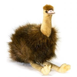 Bocchetta Penny Emu Stuffed Animal Soft Plush Toy, 23 cm Height