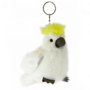 Bocchetta-Cockatoo Keyring Stuffed Animal Soft Plush Toy