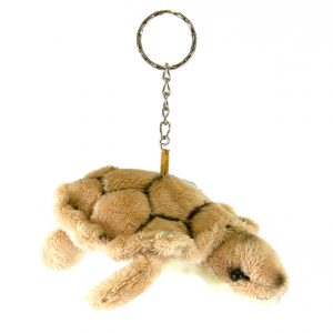 Bocchetta Turtle Keyring Stuffed Animal Soft Plush Toy, 11 cm Length