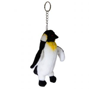 Bocchetta Penguin Keyring Stuffed Animal Soft Plush Toy, 14 cm Length x 6 cm Width