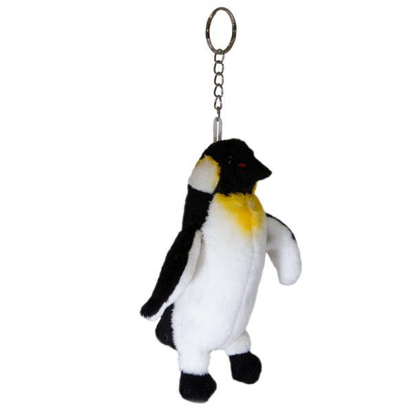 Bocchetta Penguin Keyring Stuffed Animal Soft Plush Toy, 14 cm Length x 6 cm Width