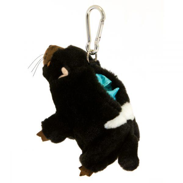 Bocchetta Tasmanian Devil Keyring/Bag Stuffed Animal Soft Plush Toy