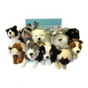 Bocchetta-Collection of Puppies Stuffed Animal Soft Plush Toy