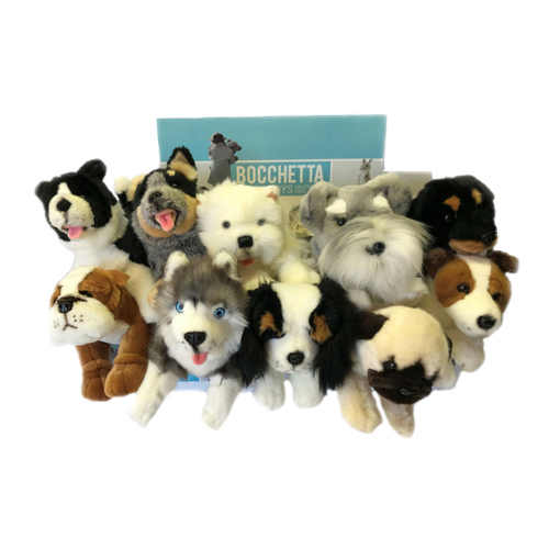 Bocchetta-Collection of Puppies Stuffed Animal Soft Plush Toy