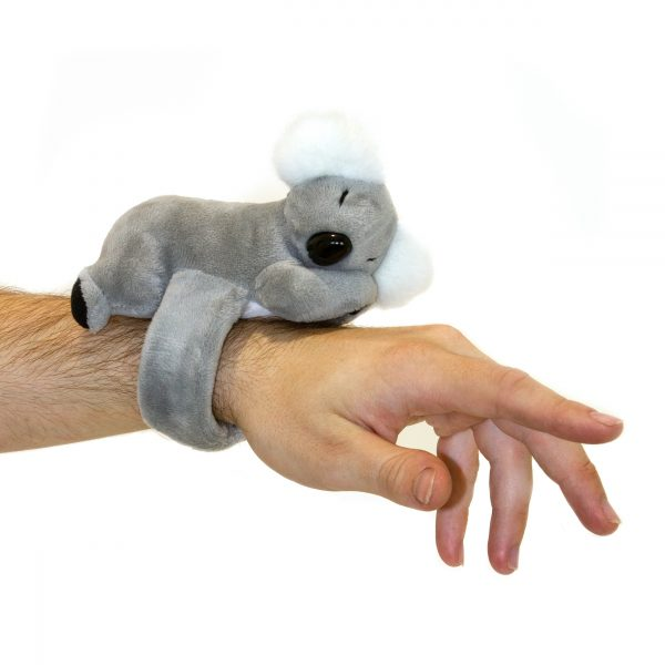 Bocchetta-Koala Snapband Stuffed Animal Soft Plush Toy