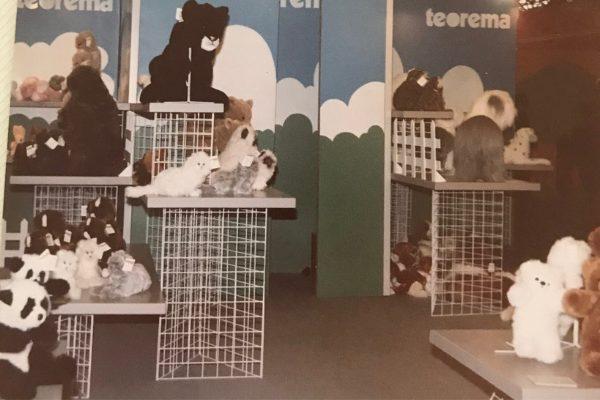 Bocchetta toys at trade fair