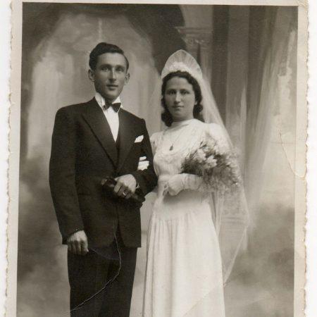 Bocchetta founders at their wedding