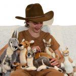 Furtastic Friends Realistic Quality Plush Toy Kangaroo