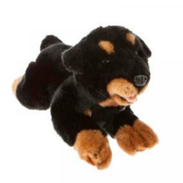 Furtastic Friends Realistic Quality Plush Toy Rottweiler