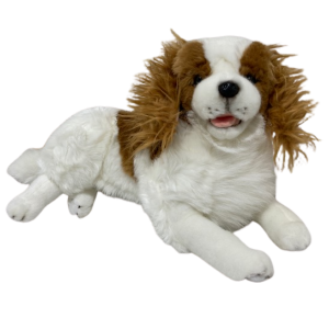 Realistic King Charles Cavalier Furtastic Friend plush toy